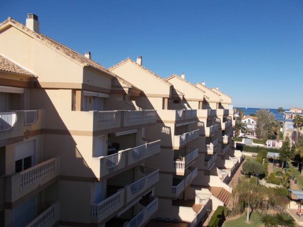 A101 Duplex Penthouse for sale in Las Marinas Denia with 3 bedrooms and sea views. - Photo