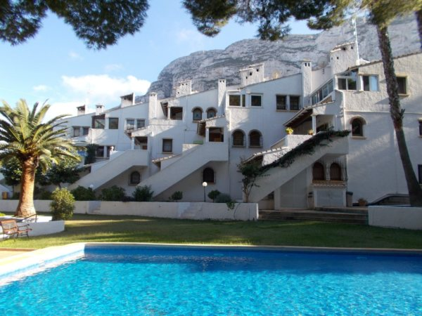 A60  2 Bedroom Apartment for sale with sea views, Denia - Photo