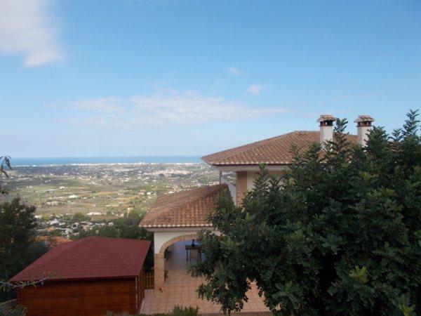 VP120 Chalet en venta en La Sella, Pedreguer, de 1 dormitorio, con vistas al mar y a la montaña. - Foto