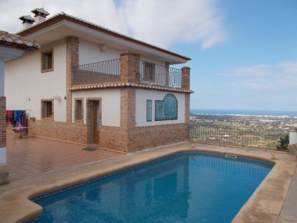 VP120 Exclusive Villa for sale in La Sella , Pedreguer, with sea and mountain views. - Photo