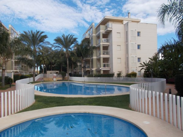 A02 Ground floor Apartment with 3 bedrooms for sale in Denia , Alicante. - Photo