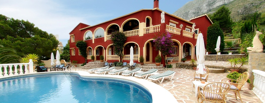 Business Villa in Denia Montgo Mountain