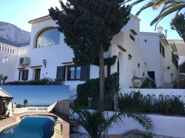 VP16 Villa for sale in Denia Spain, with sea and mountain views - Photo