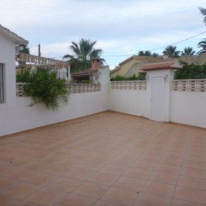 B26 Bungalow de 3 dormitorios en venta en Las Marinas km 2, Denia