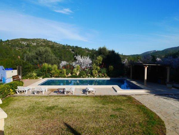 VP91 Luxueuse villa de 5 chambres avec vue sur montagnes à vendre à Lliber - Photo