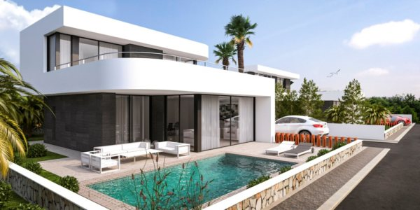 VP54   3 bedroom new luxury villa for sale near Montgo, in Denia - Photo