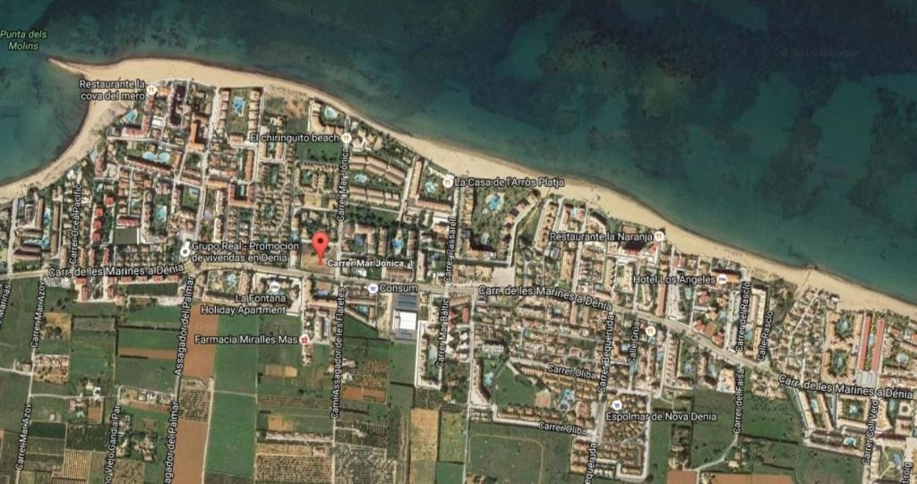 A38 New building apartments for sale in Las Marinas, Denia - Abbey