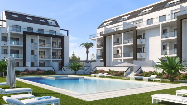 A38   New building apartments for sale in Las Marinas, Denia - Photo