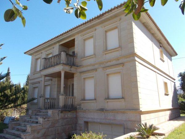 V42 Chalet de lujo de 5 habitactiones en primera línea en venta en Las Marinas, Denia - Foto