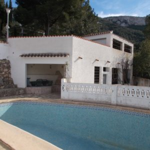 VP35 Villa for sale in Denia with 3 bedrooms and pool on the montgo mountain