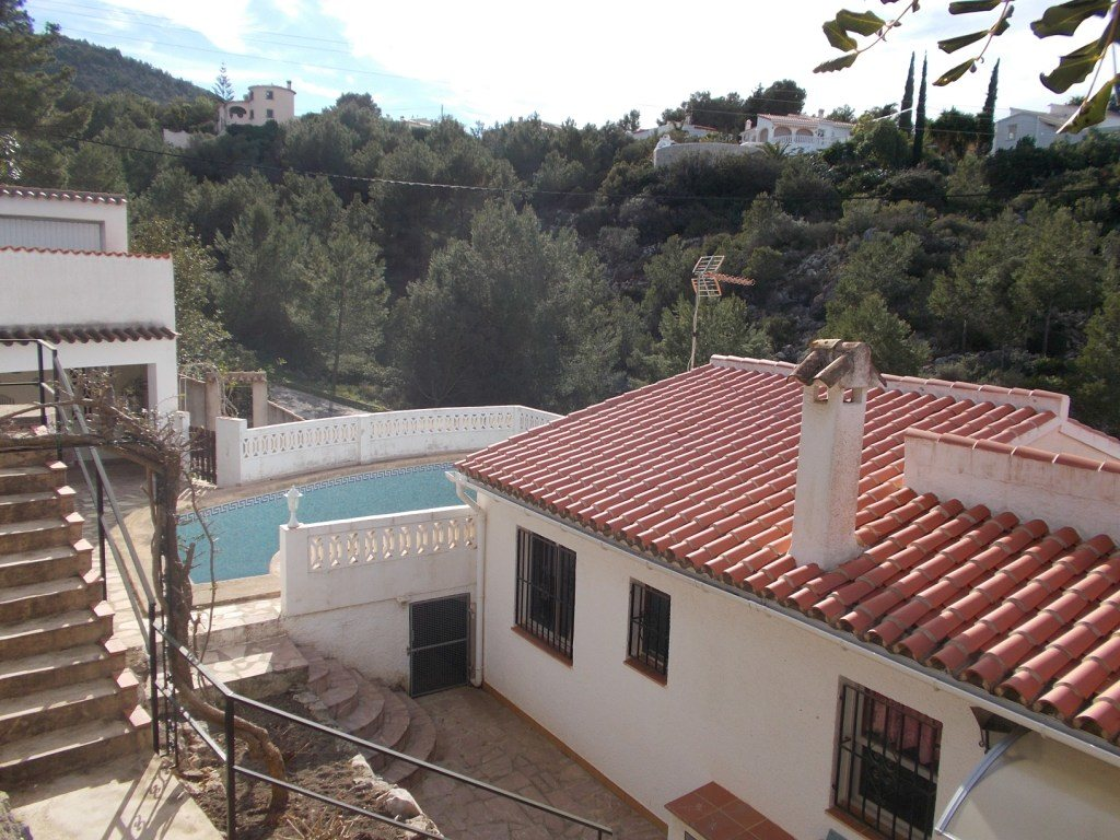 VP35 Villa for sale in Denia with 3 bedrooms and pool on the montgo mountain - Property Photo 4