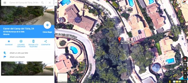 PL09     Plot for sale in La Sella, Denia - Photo