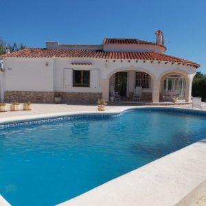 VP51   3 bedroom villa with pool for sale in Las Marinas, Denia