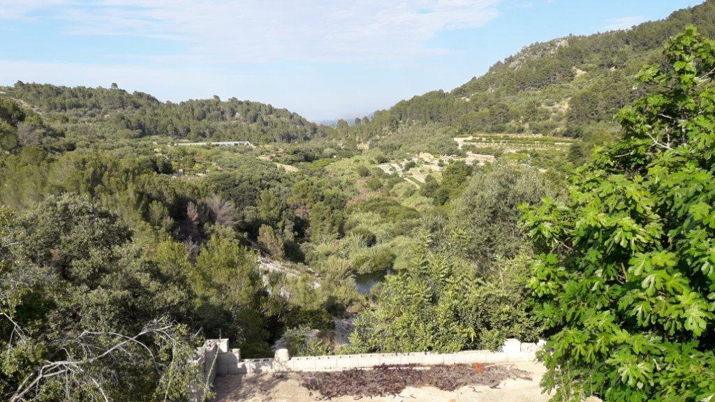 VP96 Villa zum Verkauf mit Blick aufs Meer und die Berge in Vall de Laguar, Alicante, Spanien. - Objektbild 5