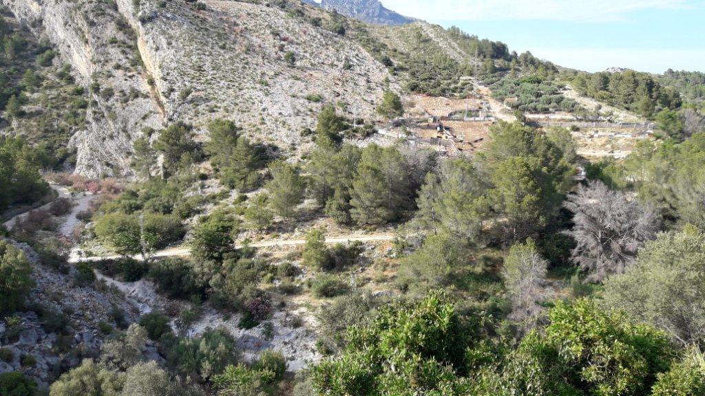VP96 Villa zum Verkauf mit Blick aufs Meer und die Berge in Vall de Laguar, Alicante, Spanien. - Objektbild 6