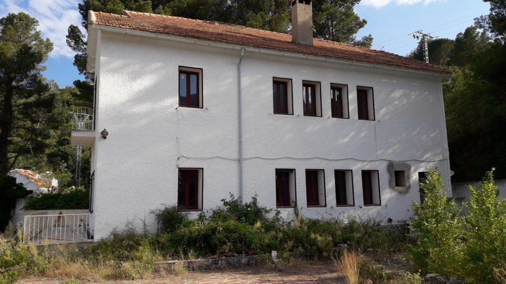 VP96 Villa zum Verkauf mit Blick aufs Meer und die Berge in Vall de Laguar, Alicante, Spanien. - Objektbild 7