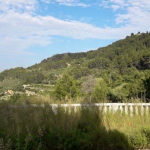 VP96 Chalet en venta con vistas al mar y montaña en Vall de Laguar, Alicante, España.