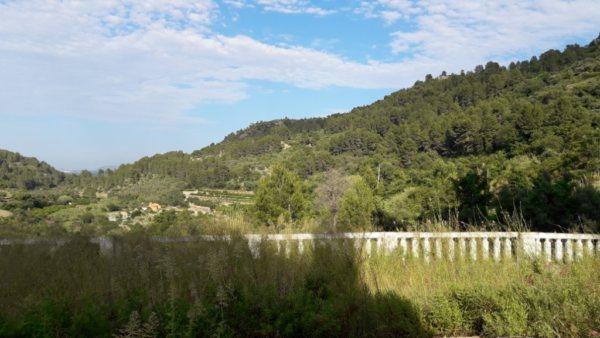 VP96 Chalet en venta con vistas al mar y montaña en Vall de Laguar, Alicante, España. - Foto