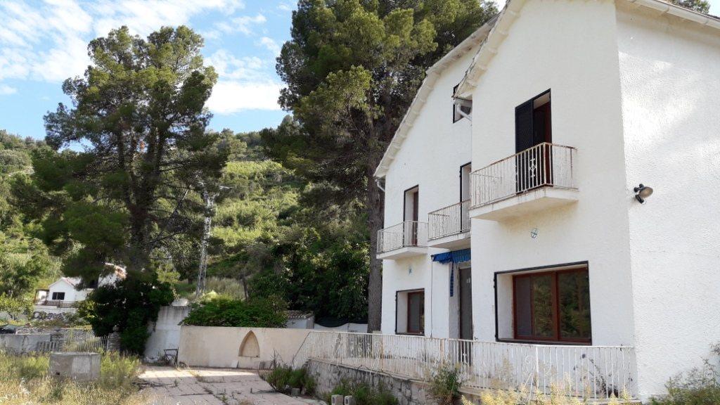 VP96 Villa zum Verkauf mit Blick aufs Meer und die Berge in Vall de Laguar, Alicante, Spanien. - Objektbild 3