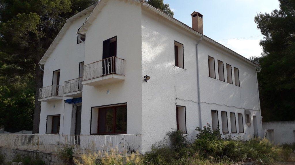 VP96 Villa zum Verkauf mit Blick aufs Meer und die Berge in Vall de Laguar, Alicante, Spanien. - Objektbild 4