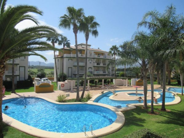 A120 2 bedroom apartment for sale near the beach in Denia, Spain - Photo