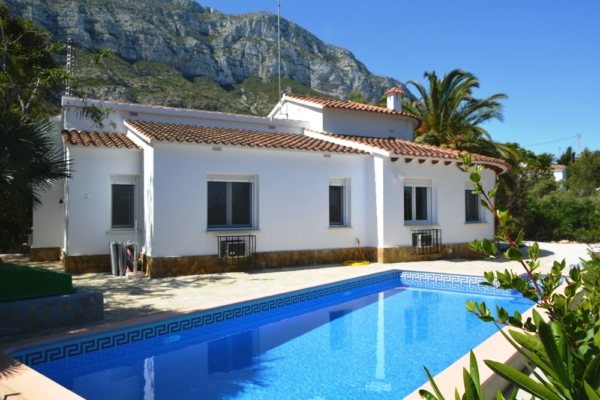 VP111 Villa for sale in Denia with 3 bedrooms, Alicante, Spain. - Photo