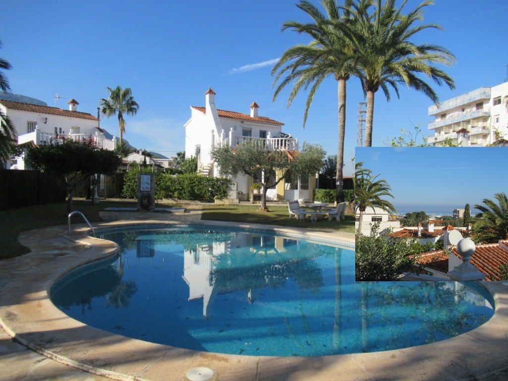 Denia terraced house for sale