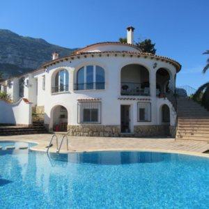 VP121 Gran Villa en venta en Denia España con 8 dormitorios y vistas al mar