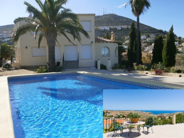 VP122 Villa for sale in Benitachell with sea views and guesthouse - Photo