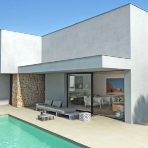 VP129 New construction of Villas for sale in Els Poblets, Spain.
