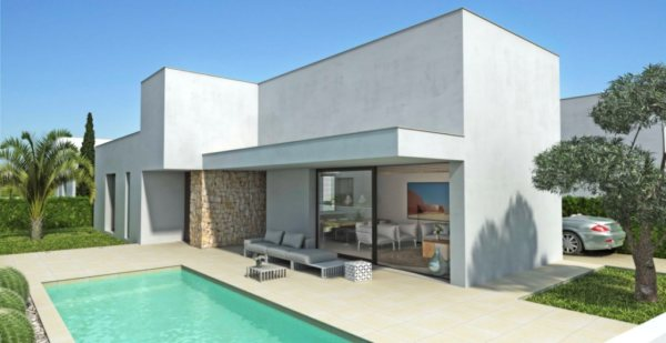 VP129 New construction of Villas for sale in Els Poblets, Spain. - Photo