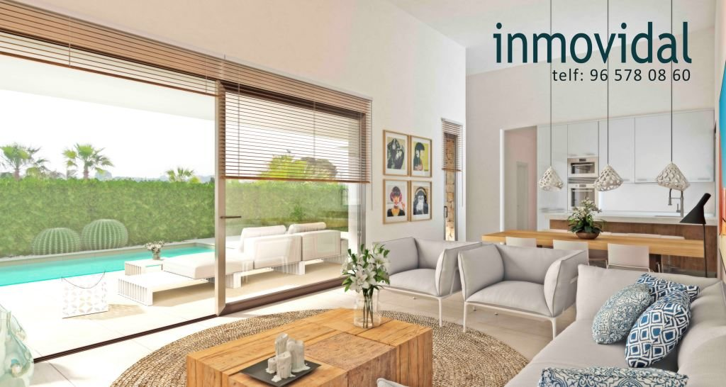 VP129 New construction of Villas for sale in Els Poblets, Spain. - Property Photo 2