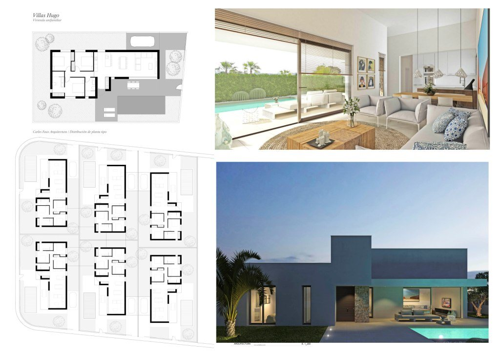 VP129 New construction of Villas for sale in Els Poblets, Spain. - Property Photo 3