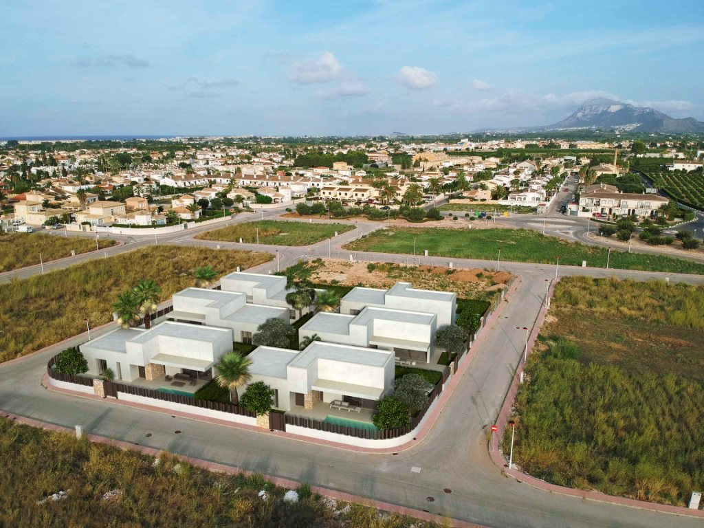 VP129 New construction of Villas for sale in Els Poblets, Spain. - Property Photo 4