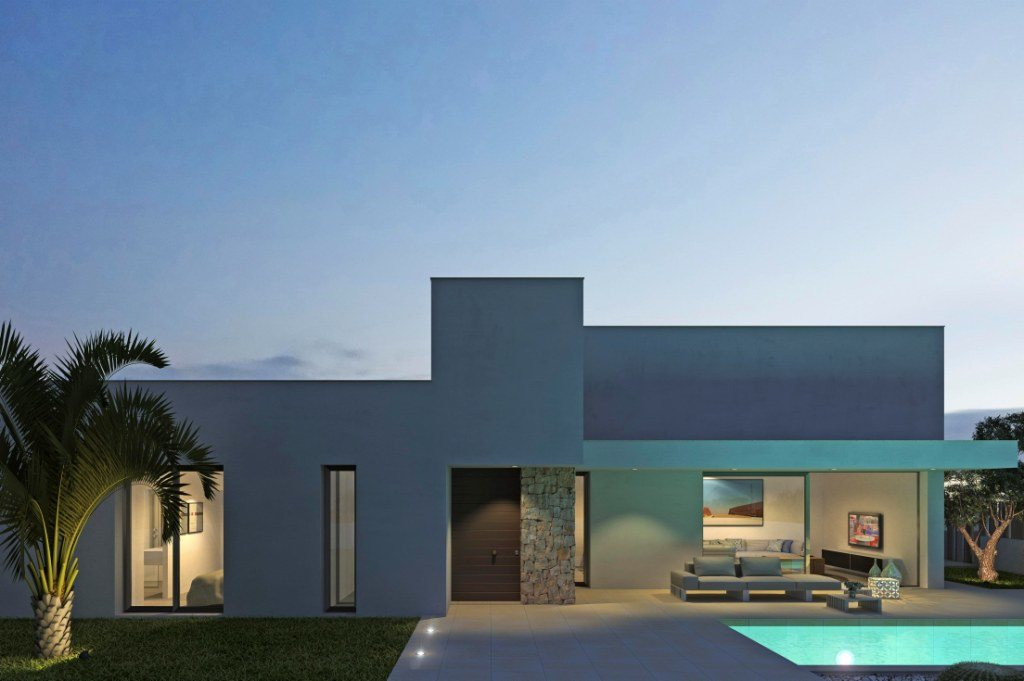 VP129 New construction of Villas for sale in Els Poblets, Spain. - Property Photo 6