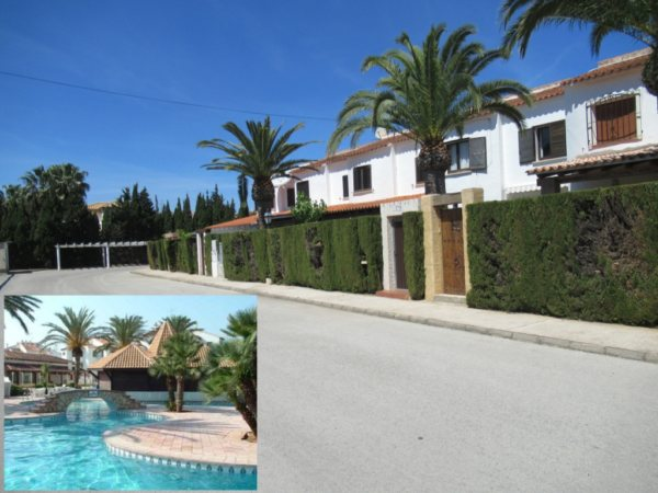 B25 House for sale in Denia with private plot near the beach of Las Marinas - Photo