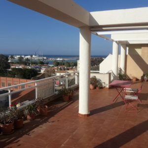 A1 Penthouse for sale with sea views in Denia center, Spain