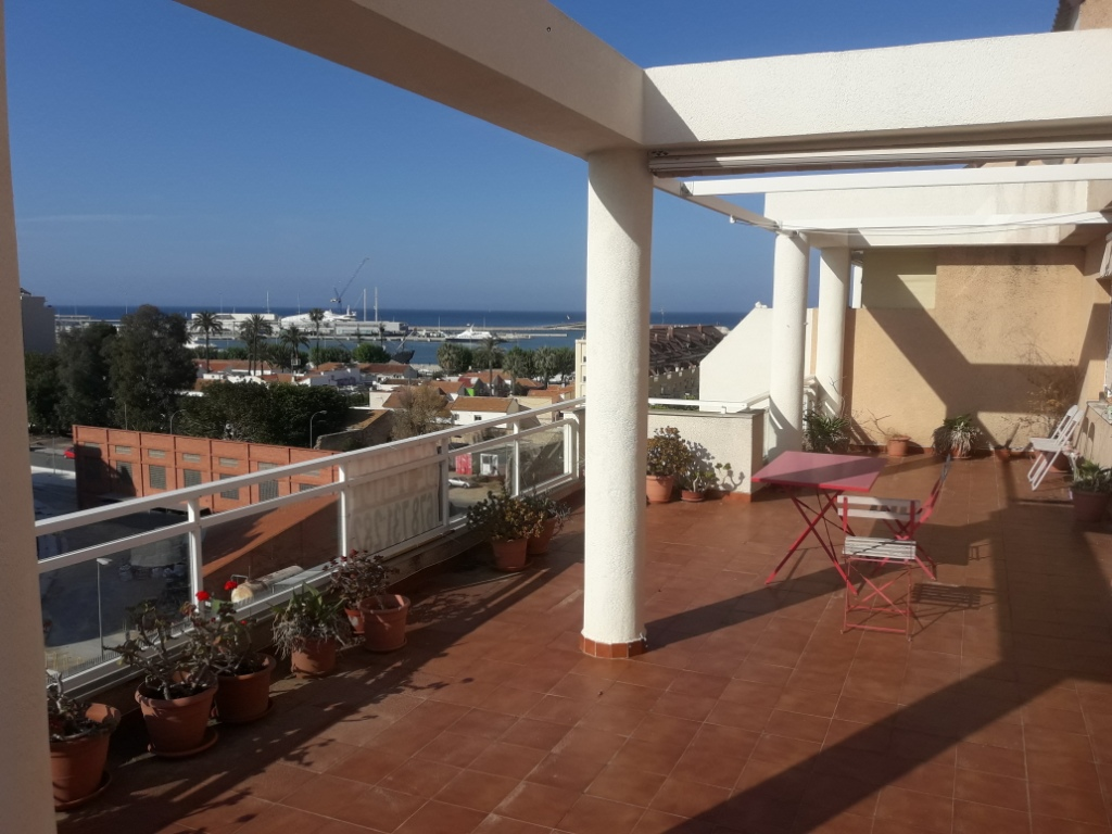 Apartment Penthouse in Denia Denia Port.