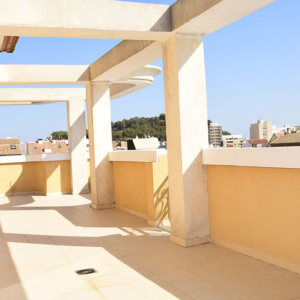 A4 Large Penthouse for sale in Denia center, Alicante, Spain