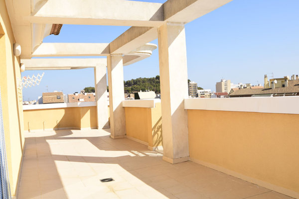 A4 Large Penthouse for sale in Denia center, Alicante, Spain - Photo