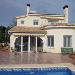 VP49 Villa For sale in Gata residencial with 3 bedrooms and pool