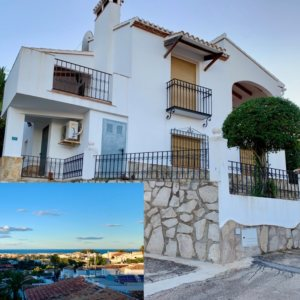 V27 Villa for sale with sea views in Denia, Alicante, Spain