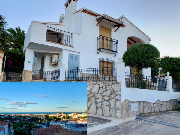 V27 Villa for sale with sea views in Denia, Alicante, Spain - Photo