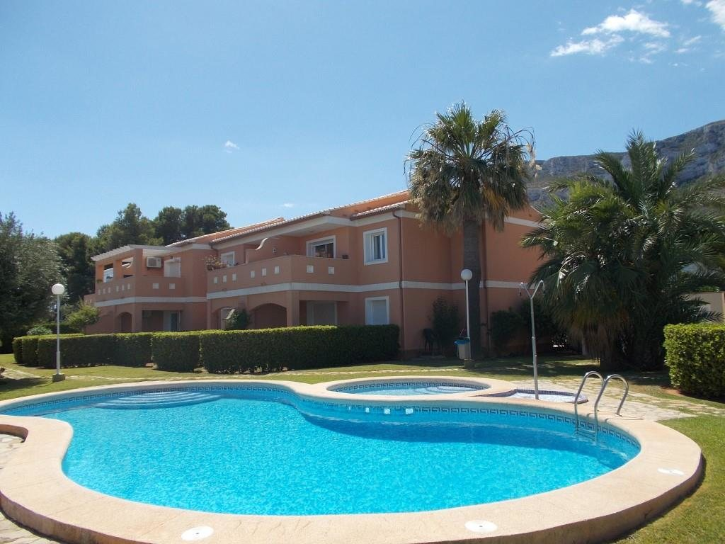 A9 Apartment for sale close to Denia with 2 bedrooms on the ground floor - Property Photo 1