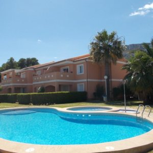 A9 Apartment for sale close to Denia with 2 bedrooms on the ground floor
