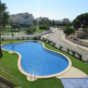 A46 Beach apartment for sale with 2 bedrooms in Vergel (denia) Spain