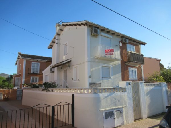 B5 Townhouse for sale near the beach in Vergel (Denia) with 3 bedrooms - Photo