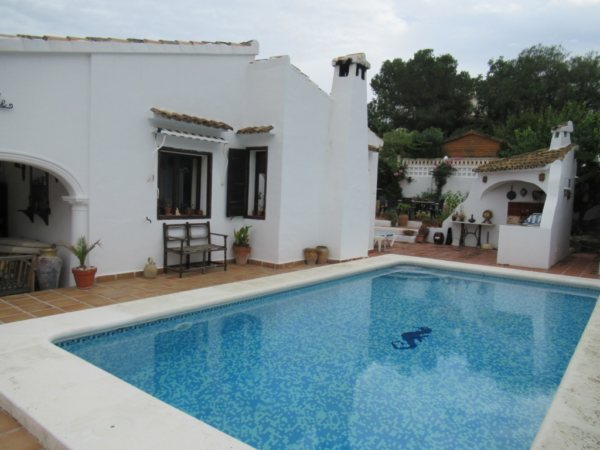 VP26  Villa for sale in Denia with 3 bedrooms and pool, in Alicante, Spain - Photo