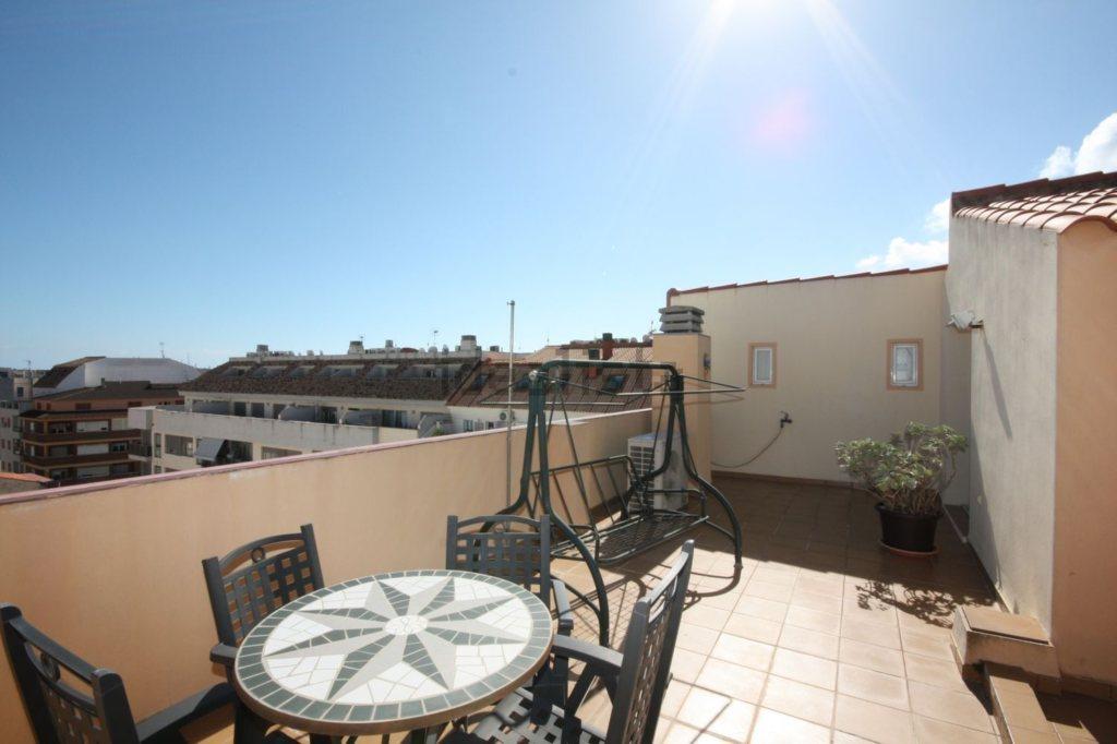 A16 Penthaus zum Verkauf im Zentrum von Denia, Alicante, Spanien - Objektbild 2