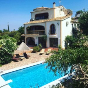 VP32 Spanish style Villa for sale in Denia with sea views, Alicante, Spain
